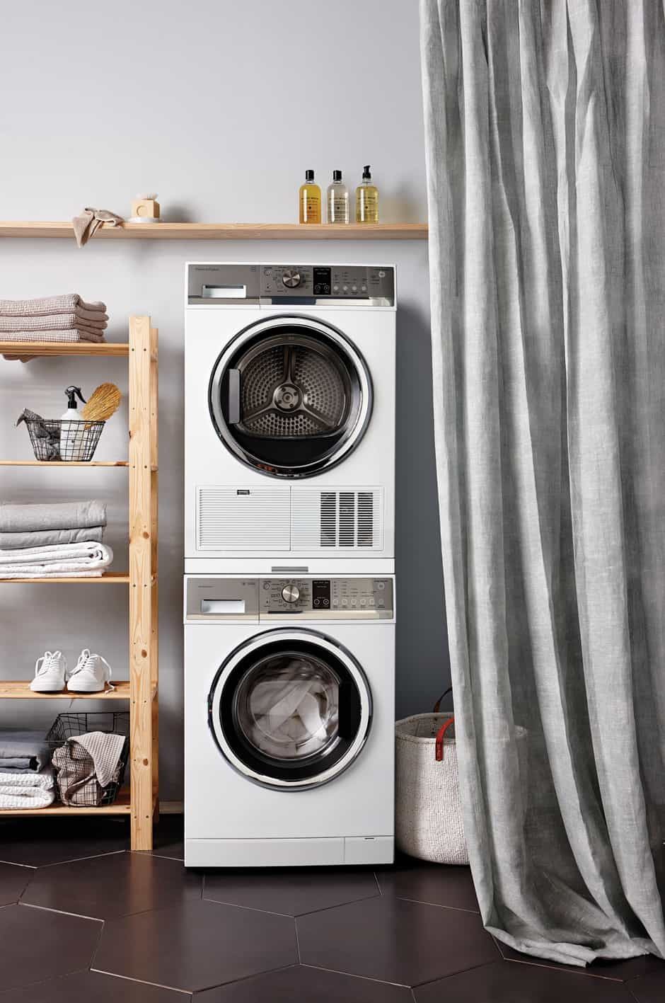Stylish laundry goals with Fisher Paykel homestyle