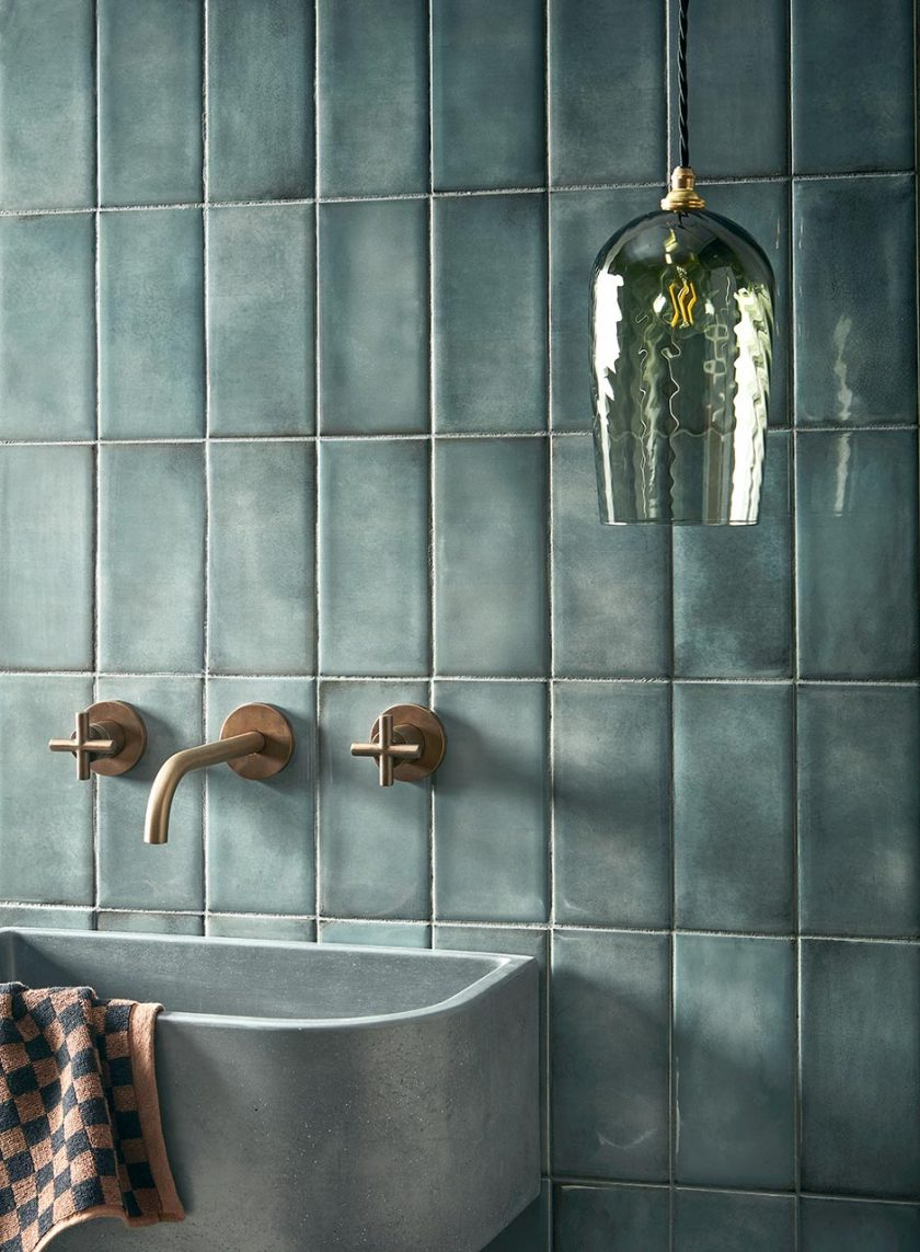 Bathroom styling to make self-care special