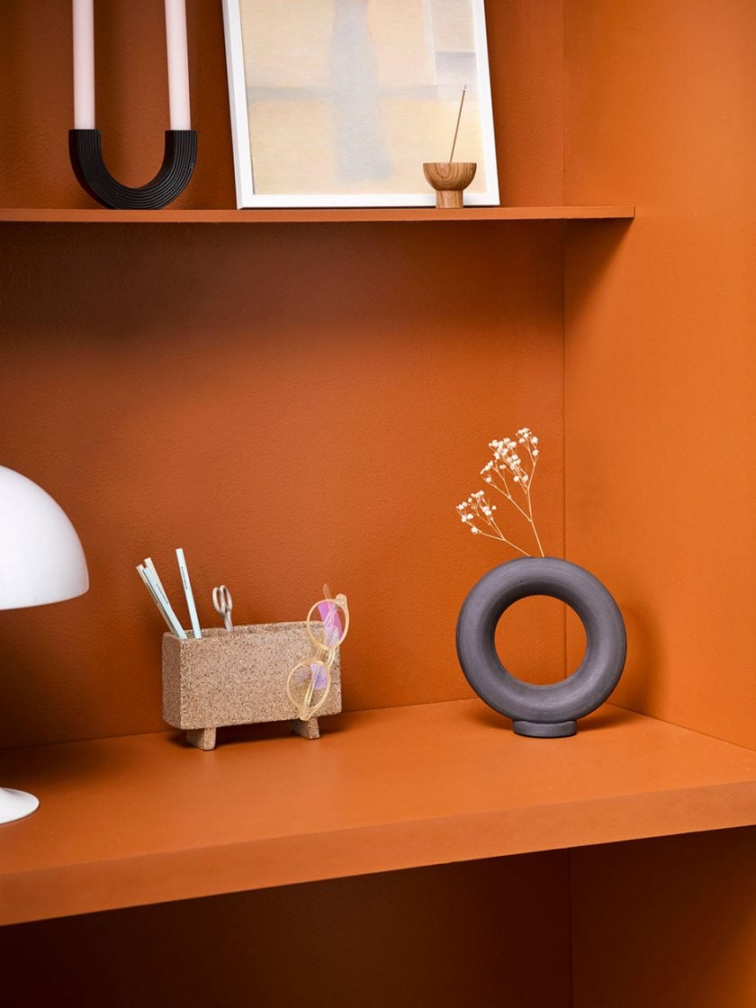 Resene paint project: Make a nook for display, storage or study