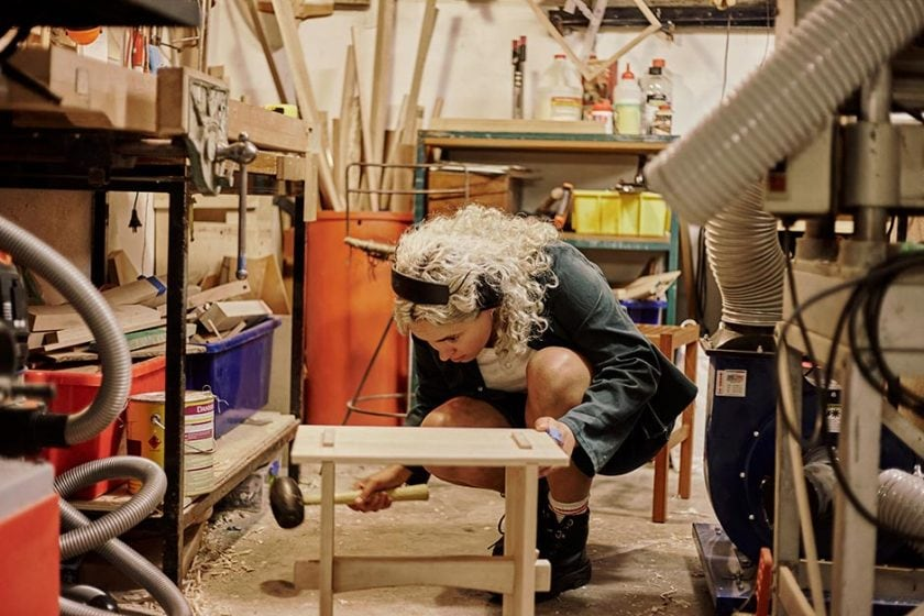 Josephine Jelicich found her calling in woodworking and could teach you