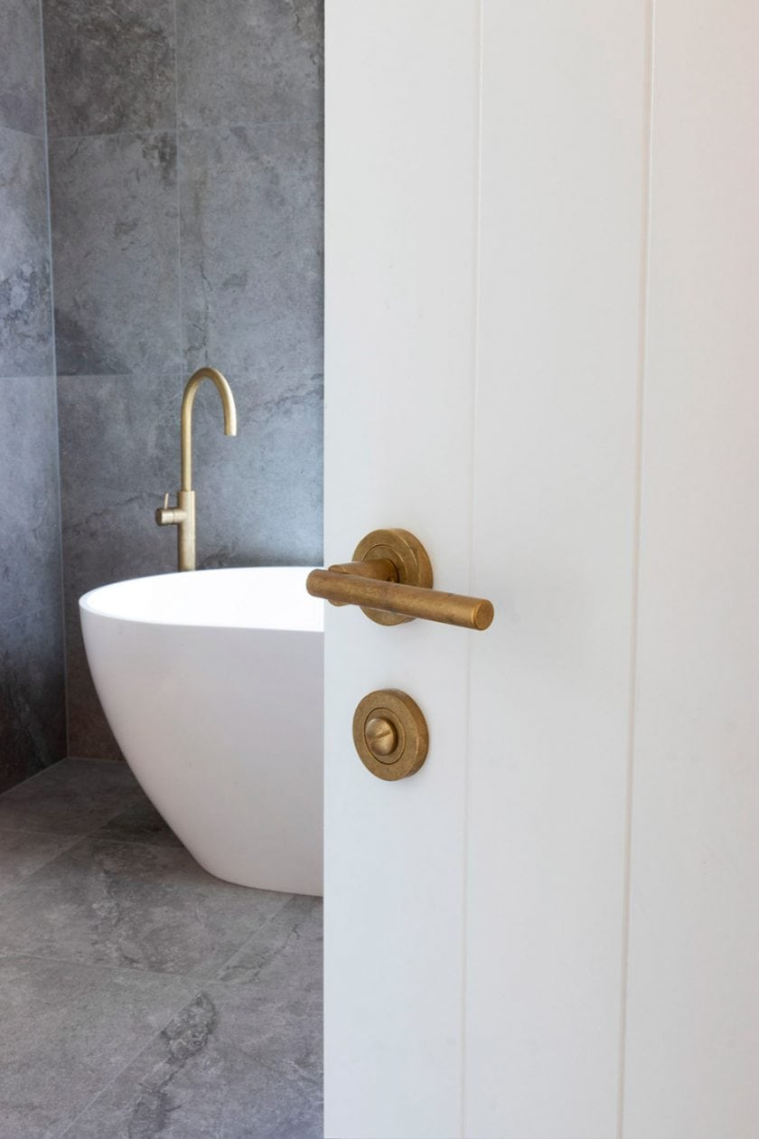 Windsor Architectural Hardware's Italian-range handles are small but impressively formed