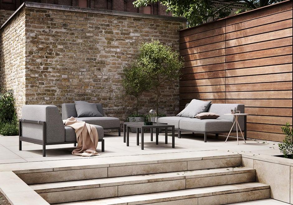 sophisticated outdoor furniture from boconcept homestyle. Black Bedroom Furniture Sets. Home Design Ideas