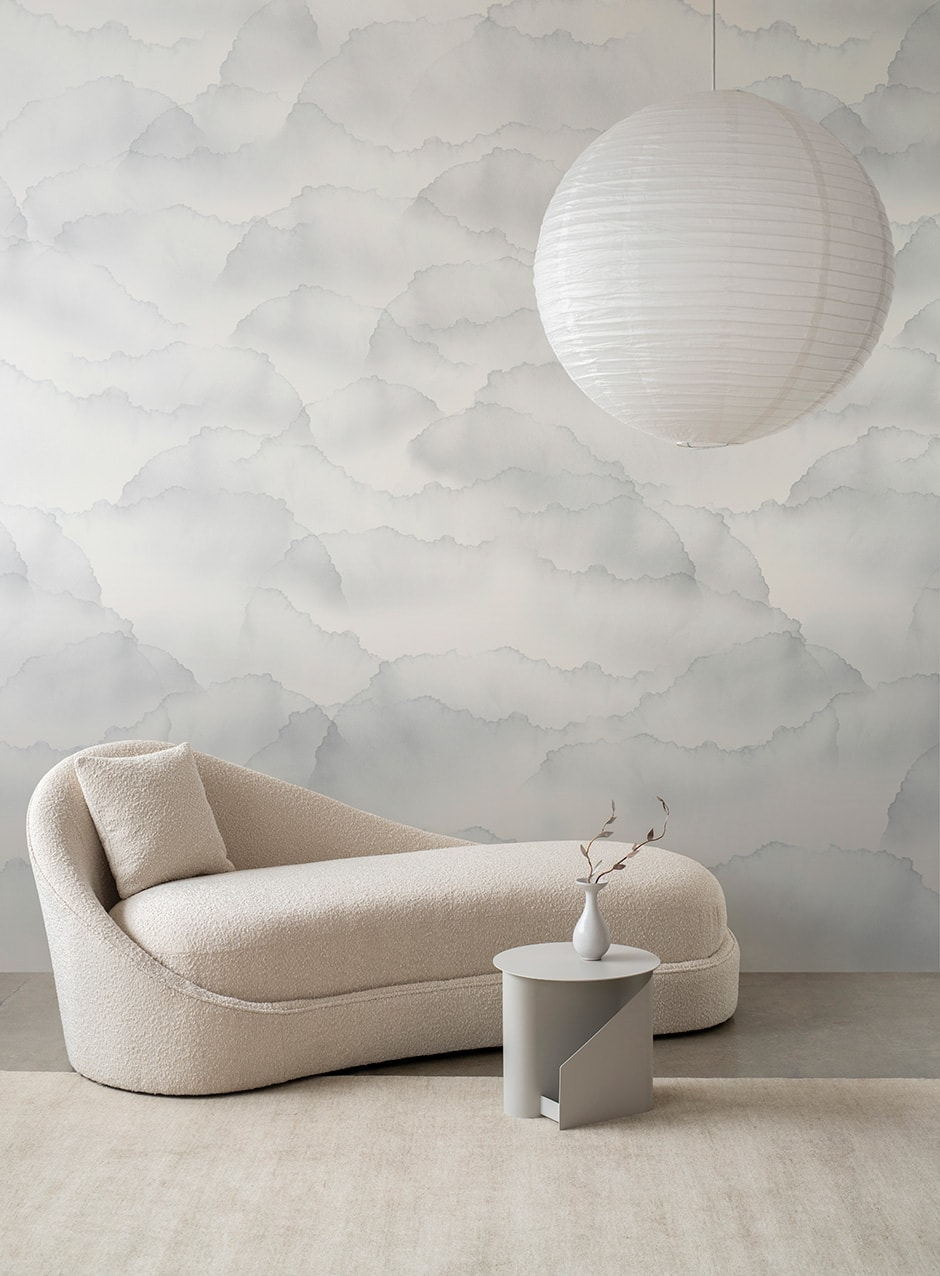 Wallpaper that wows as part of a layered interior