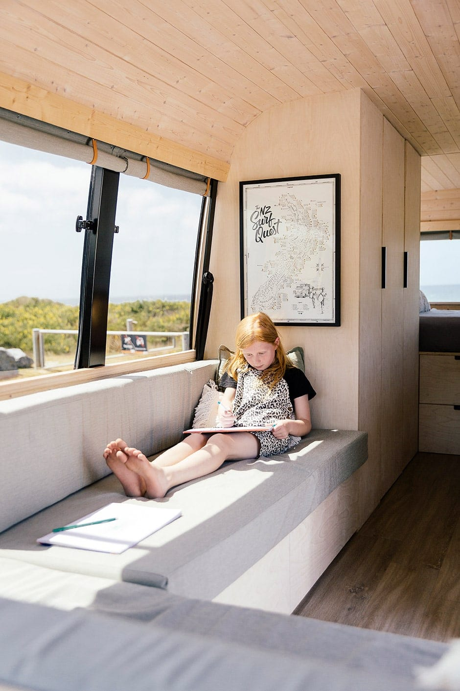 A Scandi Style Surf Van With A Plan Homestyle